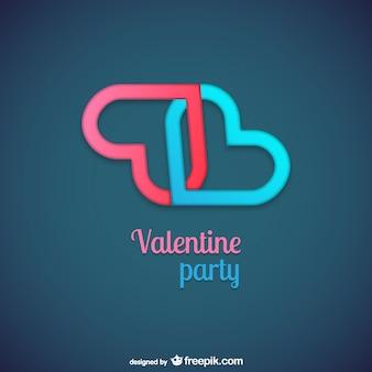 Valentine partij logo