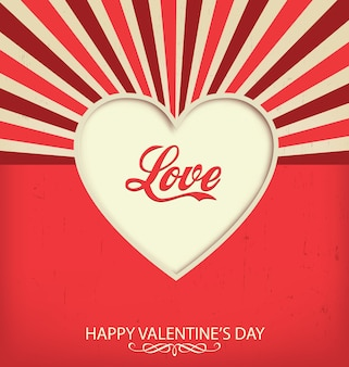 Valentine's achtergrond ontwerp