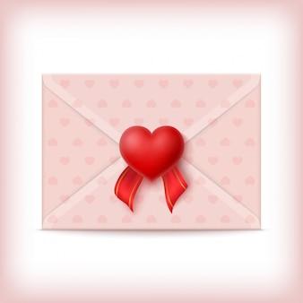 Valentine's envelopontwerp
