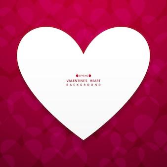 Valentine's hart achtergrond