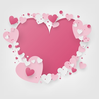 Valentine scène achtergrond