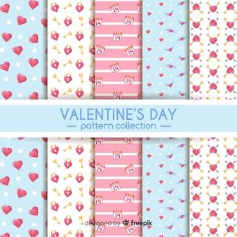 Valentine vlakke patrooninzameling