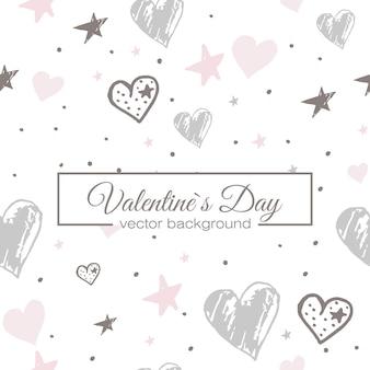 Valentines hart naadloze patroon