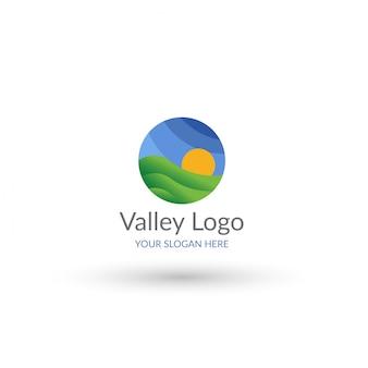 Vallei logo sjabloon