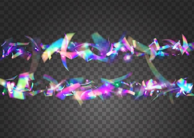 Vallende confetti. feest carnaval illustratie