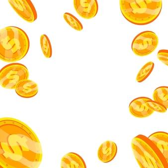 Vallende dollar explosie
