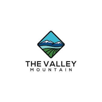 Valley logo sjabloon