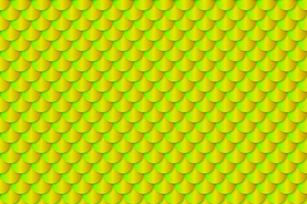 Van de de folietextuur van de meerminstaart effect het naadloze patroon