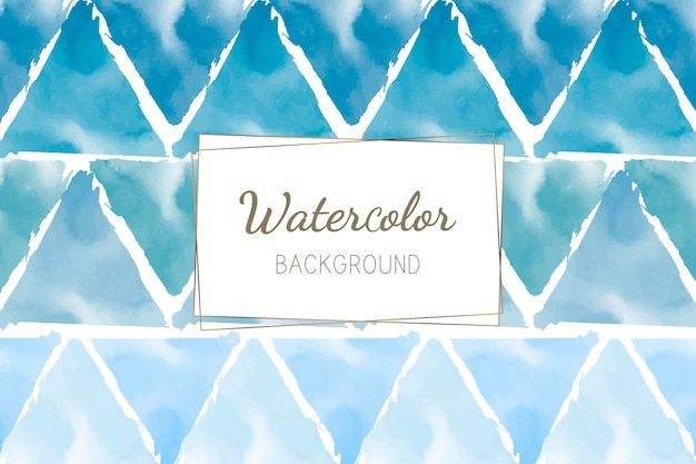 Van de pastelkleur blauwgroene waterverf vector als achtergrond