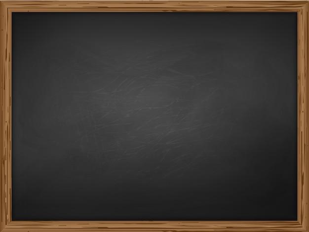Van het achtergrond schoolbord textuur met frame