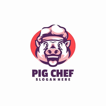 Varken chef-kok logo