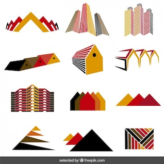 Vastgoed logo collectie