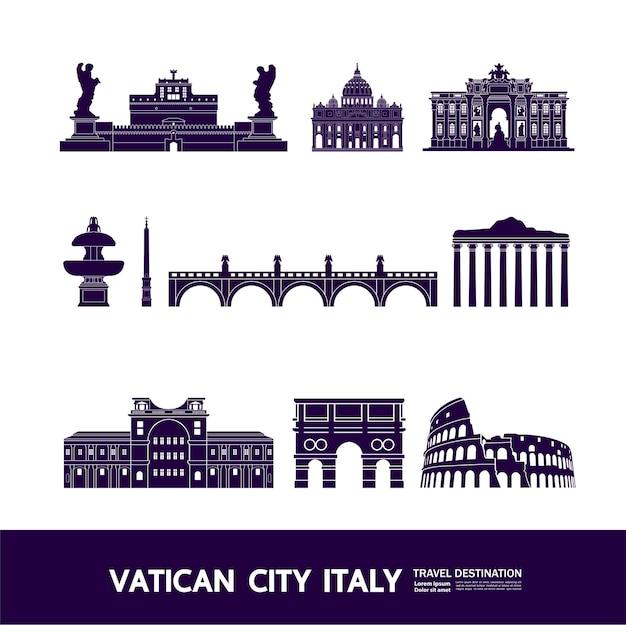 Vaticaanstad italië bestemming grand
