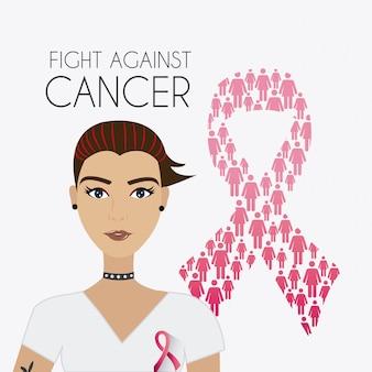 Vecht tegen borstkankercampagne