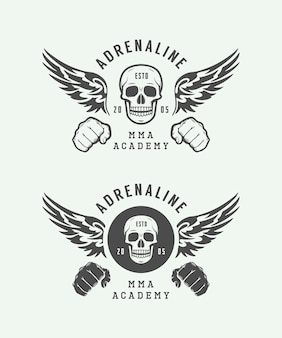 Vechten club logo's, emblemen