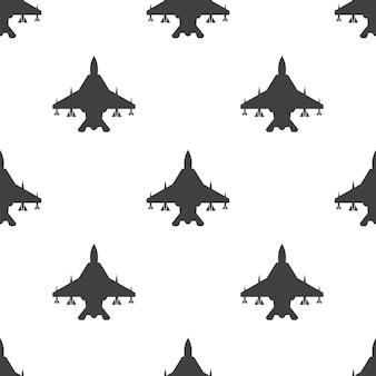 Vechter, vector naadloos patroon, bewerkbaar kan worden gebruikt voor webpagina-achtergronden, opvulpatronen