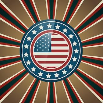 Vector 4 juli juli onafhankelijkheidsdag