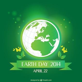 Vector aarde dag illustratie