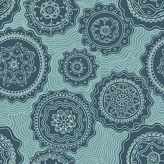 Vector abstract naadloos patroon