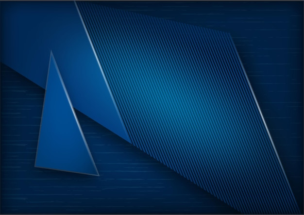 Vector abstract, wetenschap, futuristisch, energie technologie concept. digitaal beeld van lichtstralen, strepenlijnen met donkerblauwe achtergrond