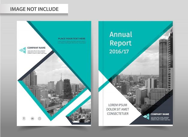 Vector abstracte achtergrond brochure flyer sjabloonontwerp.