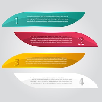 Vector abstracte achtergrond. label kleur