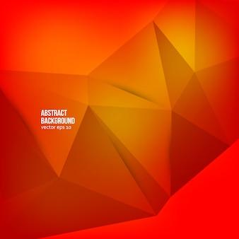 Vector abstracte achtergrond. origami geometrisch
