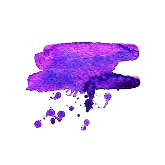 Vector abstracte aquarel banner. ontwerpsjabloon met plaats voor uw tekst