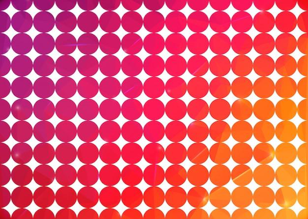 Vector abstracte creatieve achtergrond.
