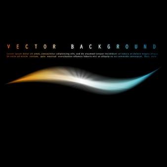 Vector abstracte kleurrijke achtergrond. kleurgolf