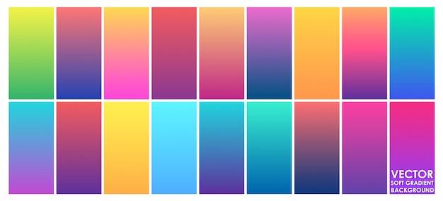 Vector abstracte zachte achtergrond met kleurovergang