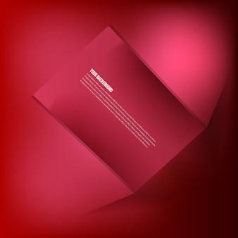 Vector achtergrond abstracte fractal. schaduw ontwerp