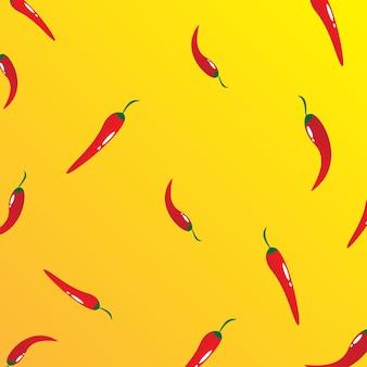 Vector achtergrond chili