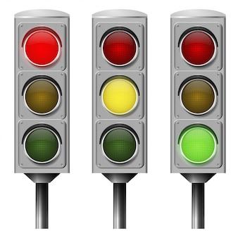 Vector afbeelding verkeerslicht
