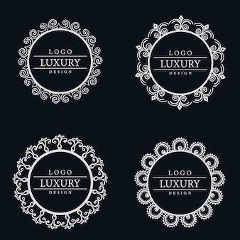 Vector amazing luxe logo designs