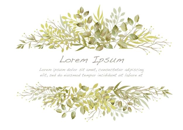 Vector aquarel bloem illustratie geïsoleerd op een witte.