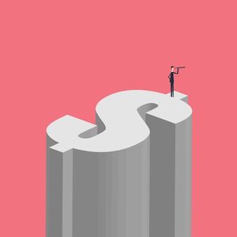 Vector bedrijfsfinanciën