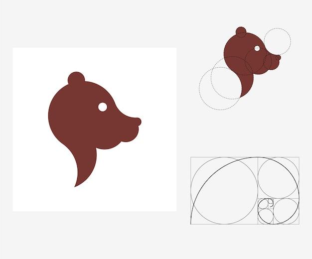 Vector beer in gulden snede stijl. bewerkbare illustratie