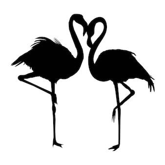 Vector bestand van flamingo