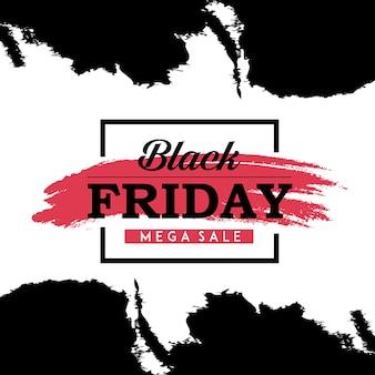 Vector black friday-achtergronden