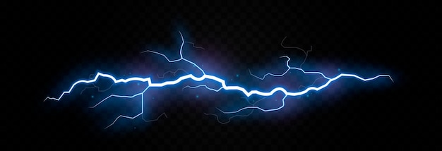Vector bliksem bliksem png onweersbui verlichting blikseminslag natuurverschijnsel