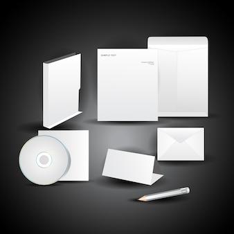 Vector business item set