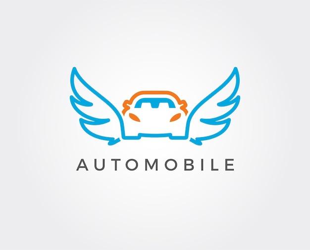 Vector car wash logo sjabloon