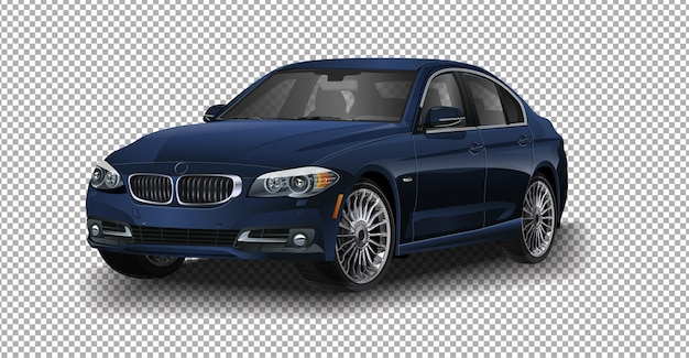Vector cars bmw 5-serie voor rally auto bmw.