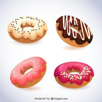 Vector donuts gratis