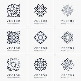 Vector etnische mandala