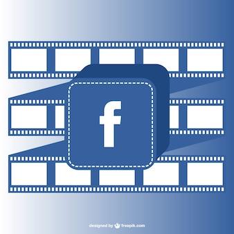 Vector facebook gratis sjabloon
