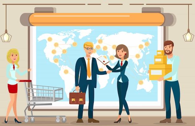 Vector flat payment worldwide dollars valuta.