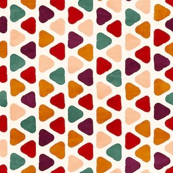Vector funky retro naadloze patroon