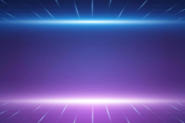 Vector futuristische technologie achtergrond elektronisch moederbord communicatie en engineering